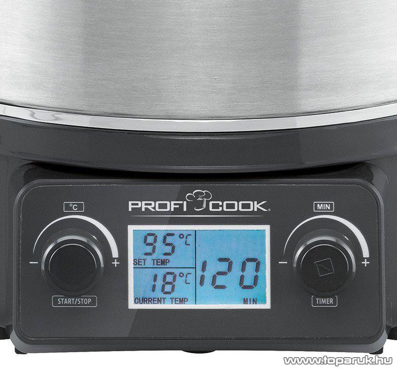 ProfiCook PC-EKA1066 Befőzőautomata beépített időzítővel, lekvár és forralt bor készítő - készlethiány