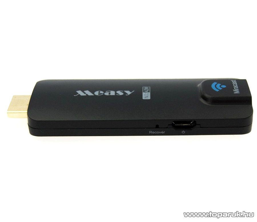 MEASY A2W Miracast HDMI Smart TV stick - megszűnt termék: 2015. június