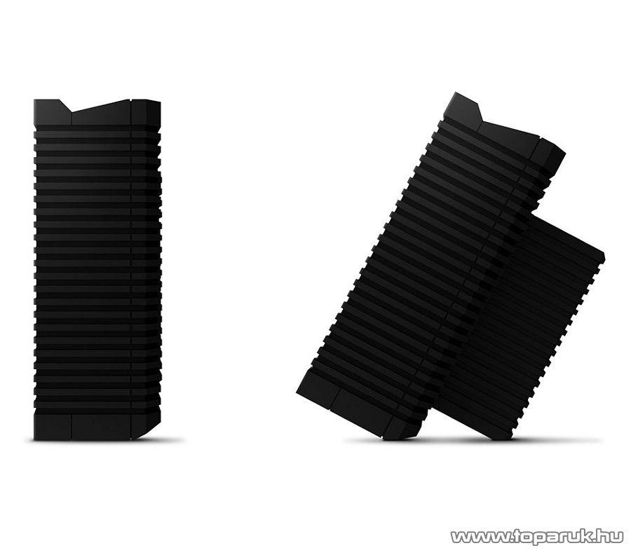 Soundfreaq Sound Kick Ghost hordozható Bluetooth hangszóró, kihangosító, fekete