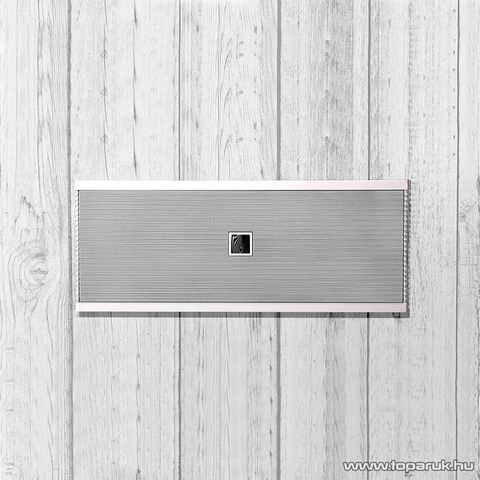 Soundfreaq Sound Kick Ghost hordozható Bluetooth hangszóró, kihangosító, fehér