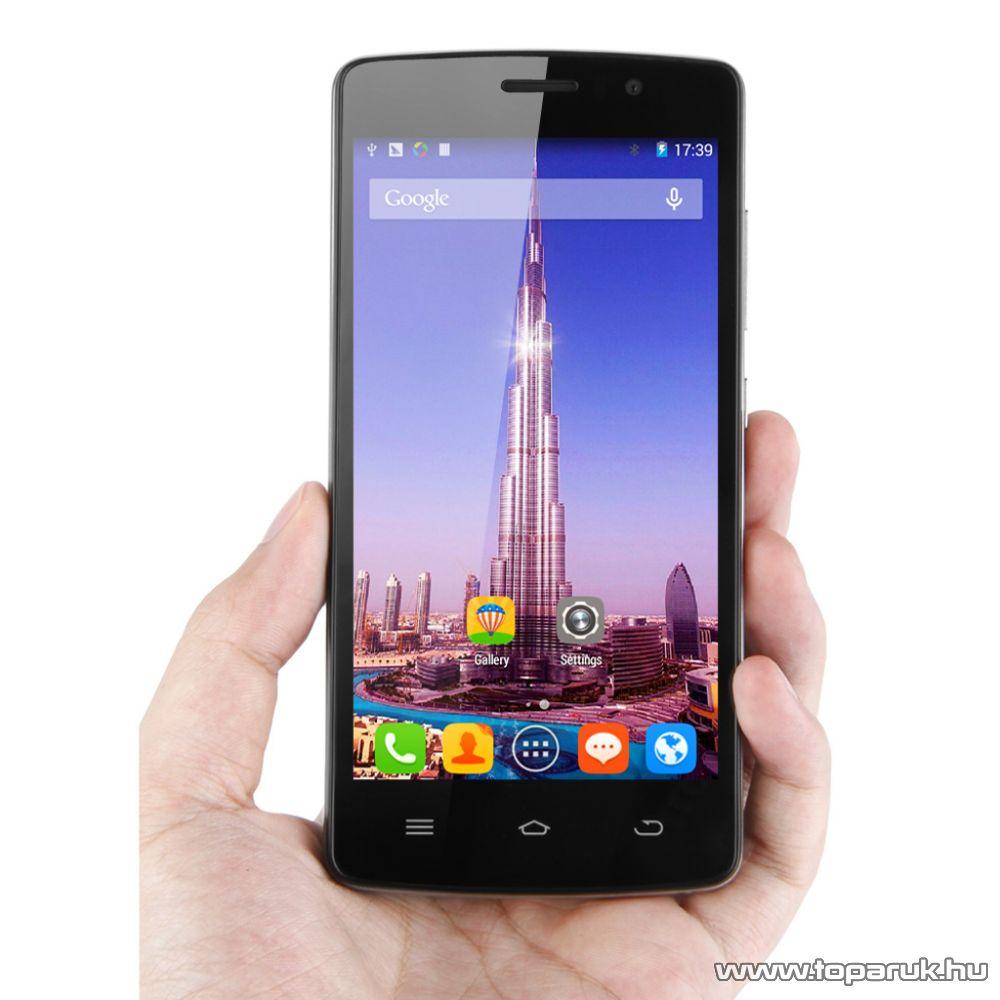 ThL 4000 (Dual SIM) kártyafüggetlen Android okostelefon, 8GB, fekete - megszűnt termék: 2015. augusztus