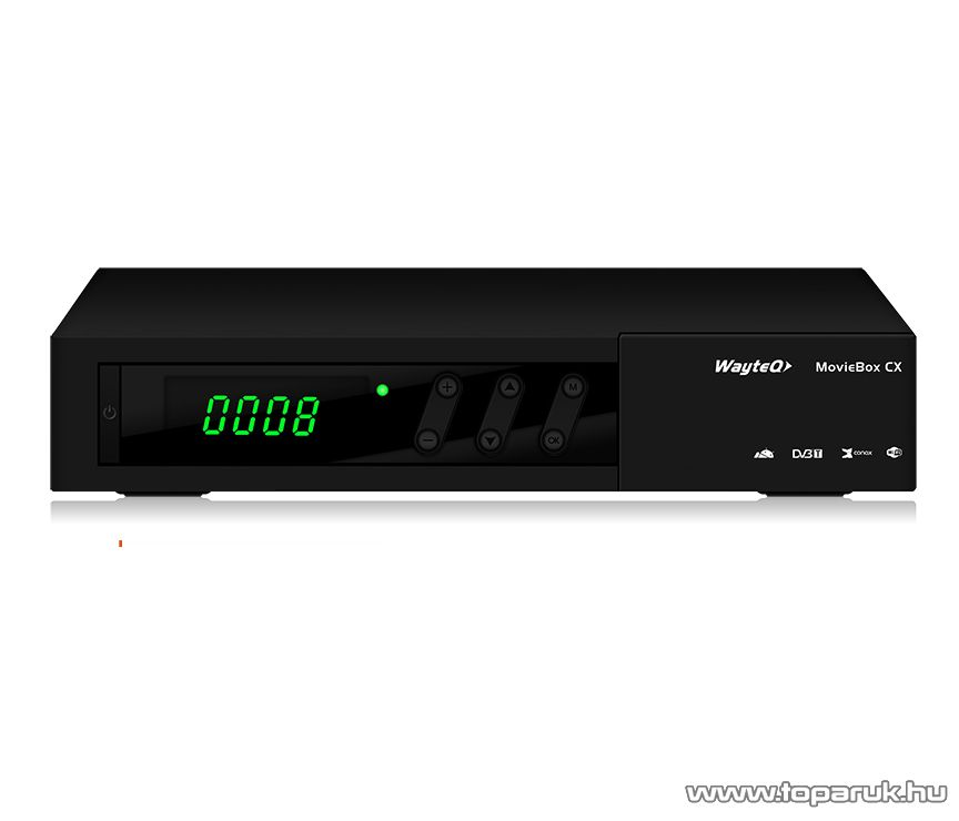 WayteQ MovieBox CX DVB-T Android Set Top Box - megszűnt termék: 2016. január