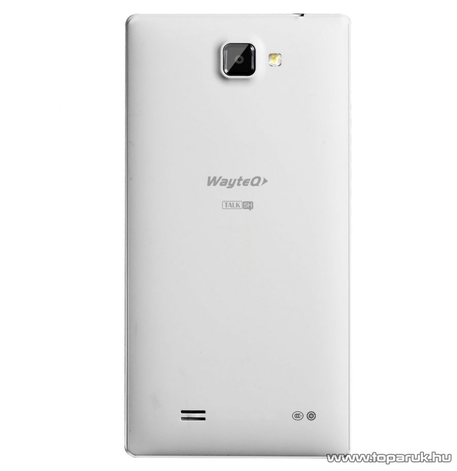 WayteQ TALK 5H Dual SIM kártyafüggetlen okostelefon (Android) 4GB + Sygic 3D Európa navigációs szoftver - megszűnt termék: 2015. január