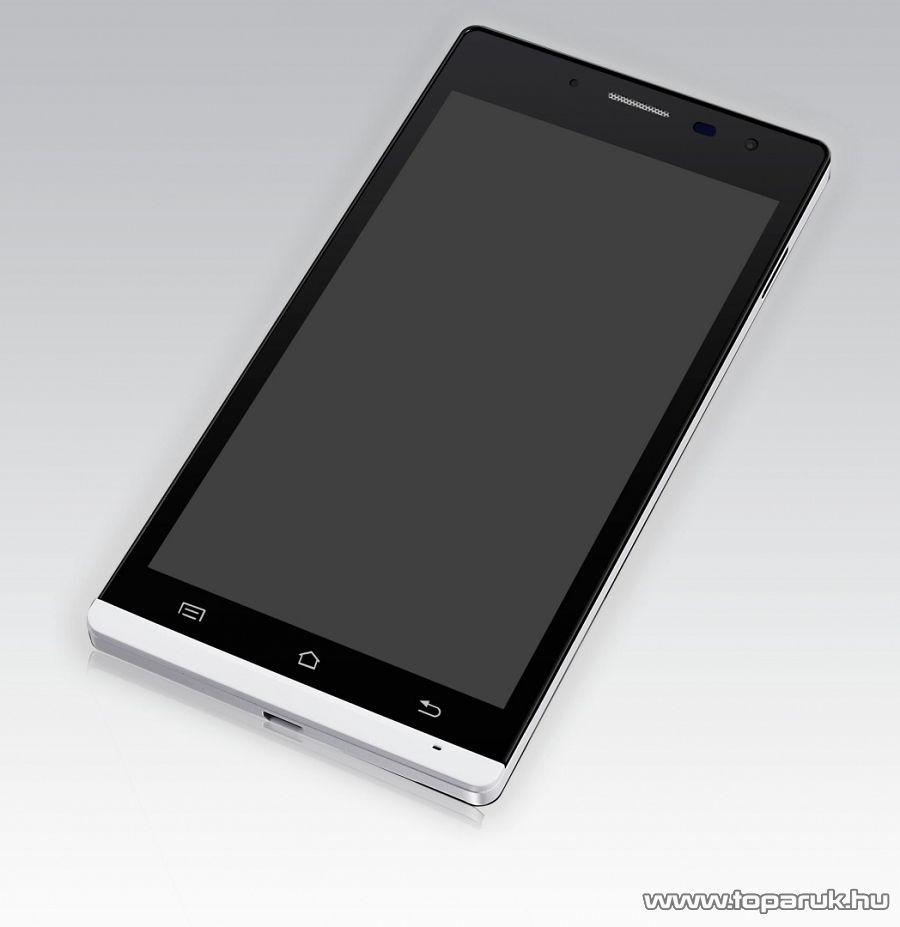 WayteQ TALK 5H Dual SIM kártyafüggetlen okostelefon (Android) 4GB, navigációs szoftver nélkül - megszűnt termék: 2015. január