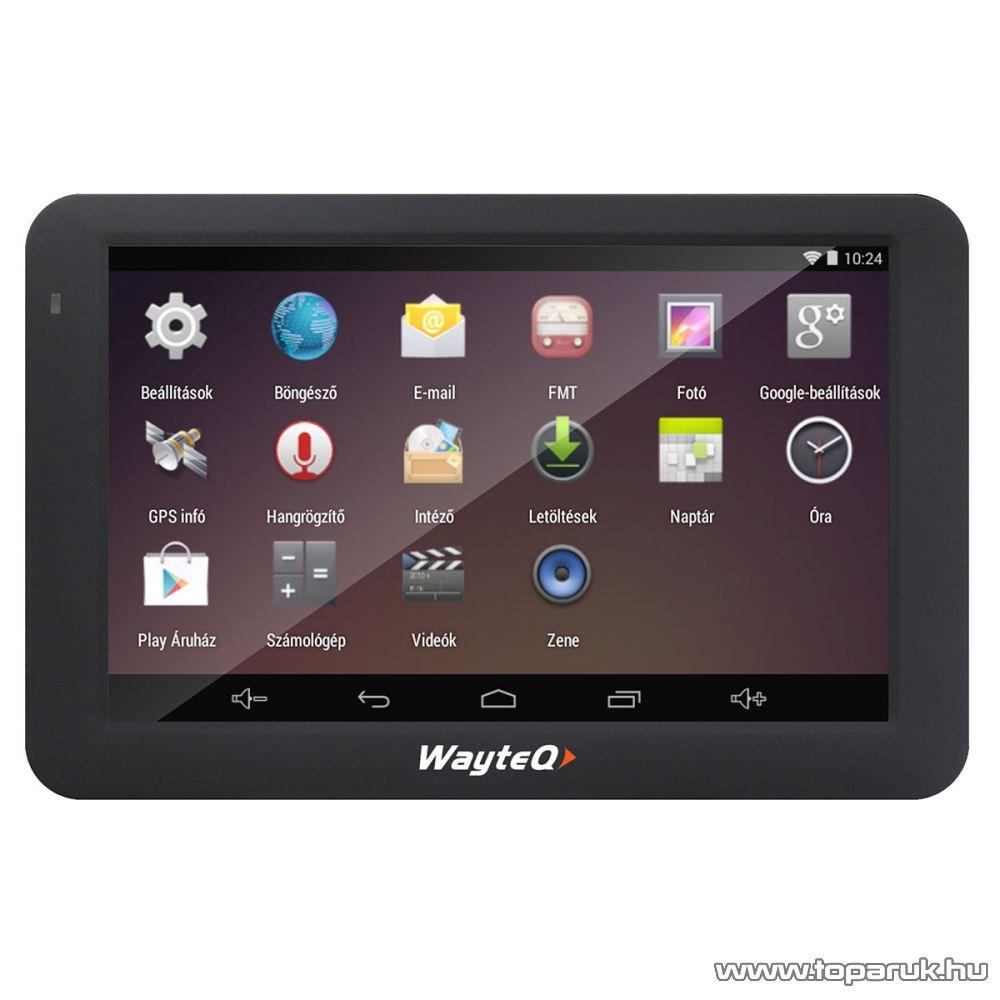 """WayteQ X995BT Android 5""""-os GPS navigáció készülék, 8 GB (navigációs szoftver nélkül)"""