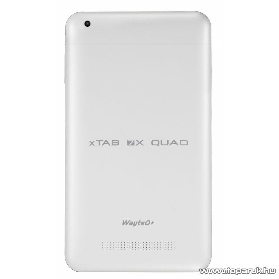 """Wayteq xTAB-7X Quad 7""""-os IPS tablet, 8GB, fehér (Android) + Sygic Truck for Android VOUCHER Teljes Európa TeleAtlas (kamionos) térképszoftverrel - megszűnt termék: 2015. november"""