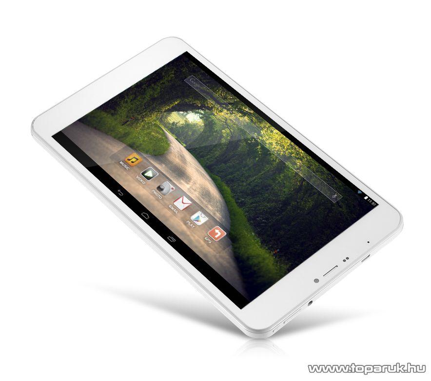"""WayteQ xTAB 8X Quad 8""""-os IPS tablet, 8GB, fehér (Android) - megszűnt termék: 2016. január"""