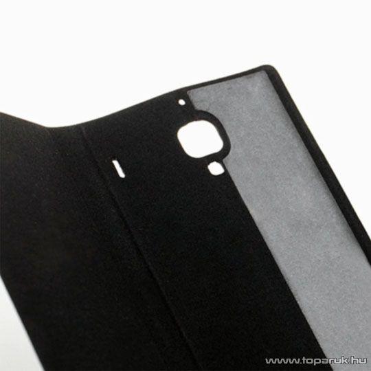 Xiaomi Hongmi 1S / Redmi 1S oksotelefon flip tok, gyári, fekete