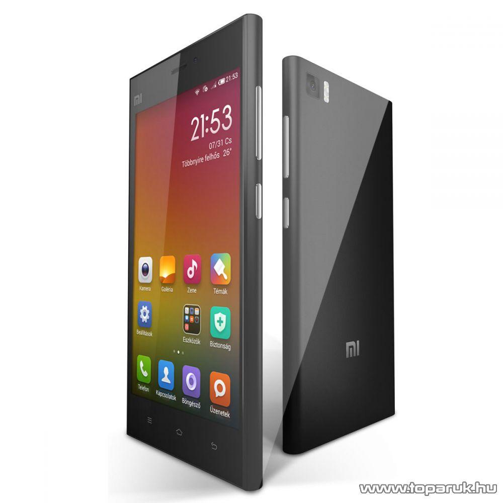Xiaomi MI3 kártyafüggetlen okostelefon, fekete, 16GB (Android) - megszűnt termék: 2015. október
