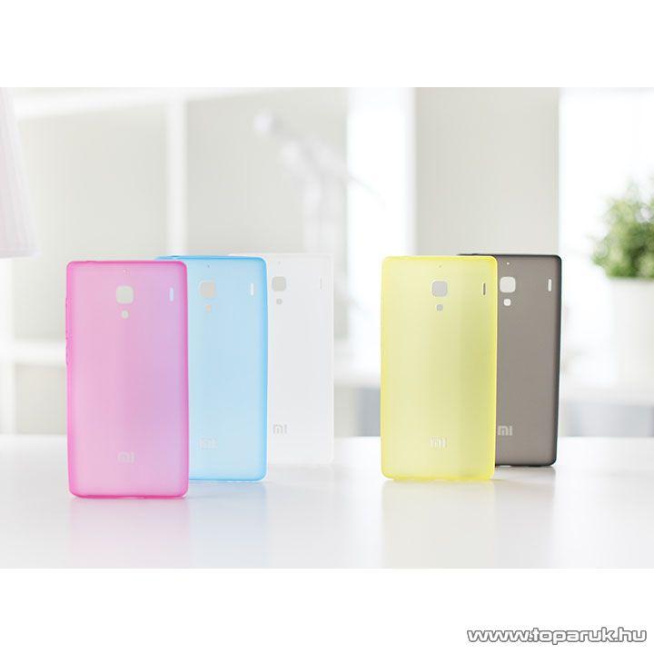 Xiaomi Hongmi 1S / Redmi 1S TPU gyári mobiltelefon tok, fekete