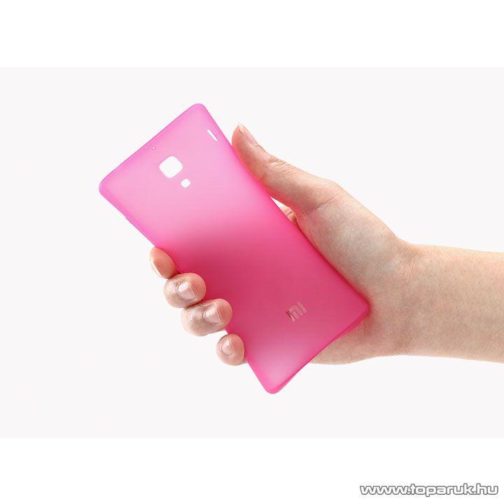 Xiaomi Hongmi 1S / Redmi 1S TPU gyári mobiltelefon tok, pink (rózsaszín) - megszűnt termék: 2015. július