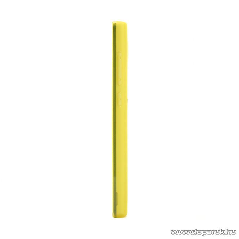 Xiaomi Hongmi 1S / Redmi 1S TPU gyári mobiltelefon tok, sárga - megszűnt termék: 2015. július
