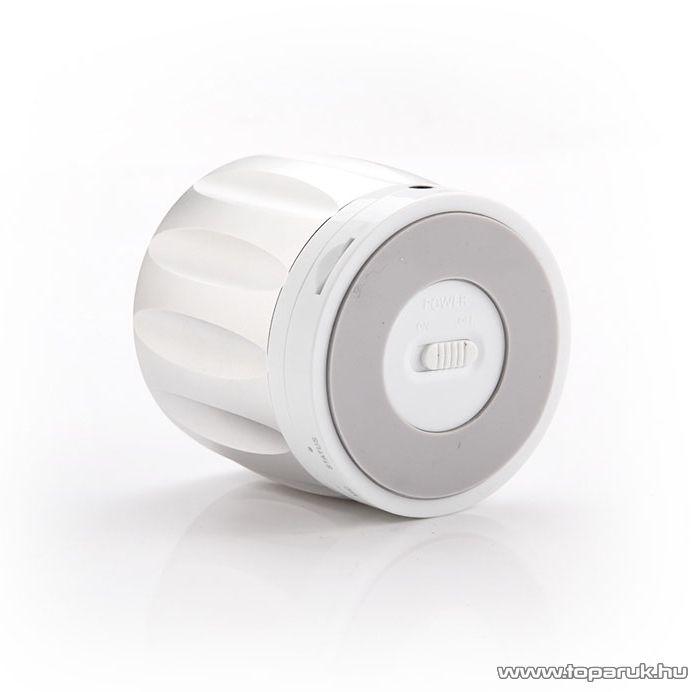 Yoobao YBL-202 Kis méretű, hordozható hangszóró, Bluetooth vezeték nélküli hangszóró, kihangosító, 2,3W, ezüst - megszűnt termék: 2016. szeptember