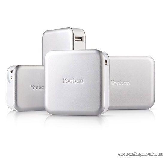 YooBao Magic Cube II 10400 Power Bank univerzális energiaforrás + LED lámpa, 10400 mAh - megszűnt termék: 2015. június