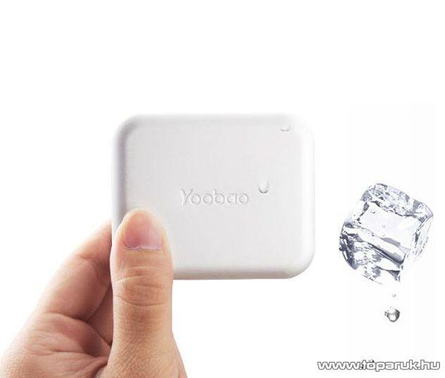 YooBao Magic Cube II 5200 Power Bank univerzális energiaforrás + LED lámpa, 5200 mAh - megszűnt termék: 2015. június
