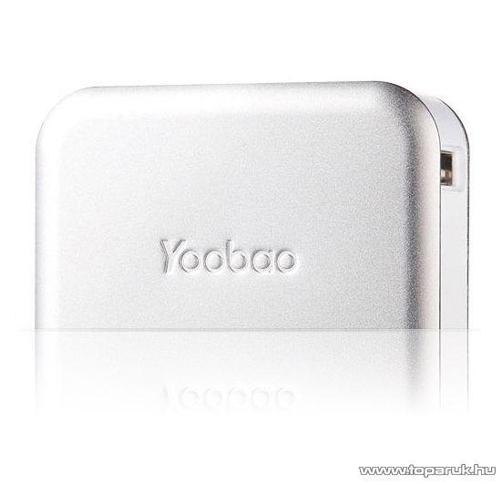 YooBao Magic Cube II 7800 Power Bank univerzális energiaforrás + LED lámpa, 7800 mAh - készlethiány