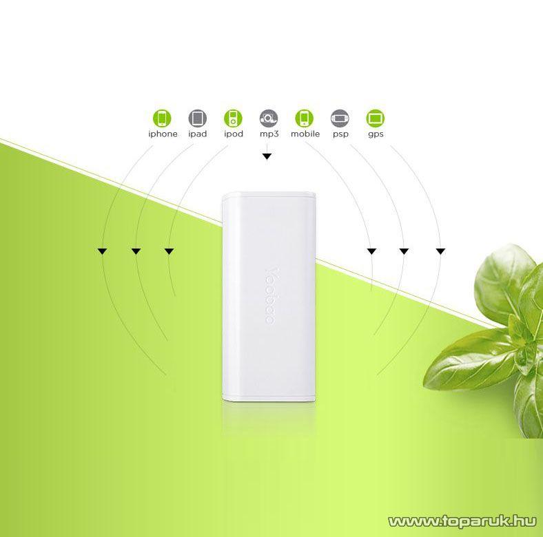 Yoobao Simple 5200 Power Bank külső akkumulátor, 5200 mAh kapacitás - készlethiány