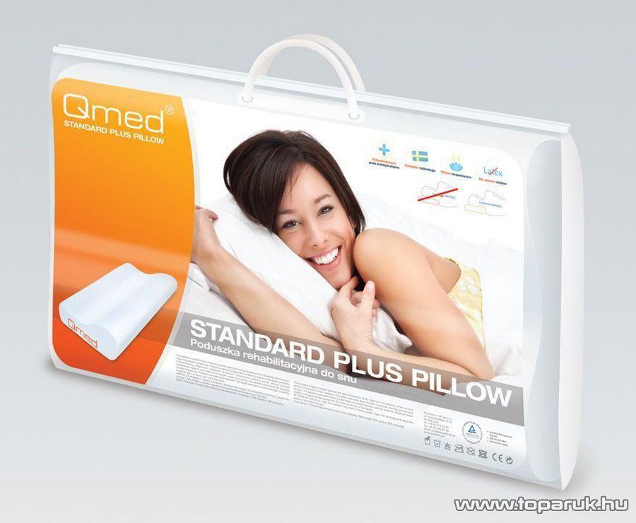 Qmed Standard Plus Memóriahabos anatómiai párna, 54 x 33 cm