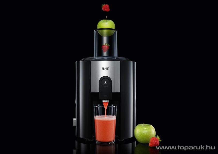 Braun J500 Multiquick 5 gyümölcsprés, gyümölcscentrifuga - készlethiány