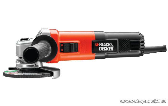 Black & Decker KG750 Nagy teljesítményű sarokcsiszoló, 750 W