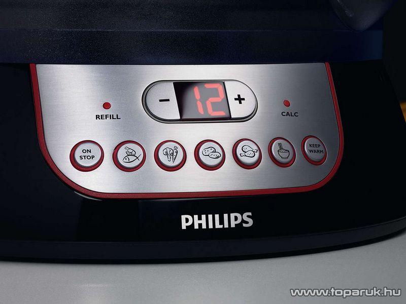 Philips HD9140/91 Pure Essentials Collection Ételpároló aromatartó és melegen tartó funkcióval