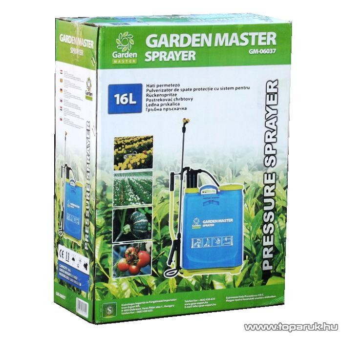 GardenMaster 16 literes mechanikus háti permetező - készlethiány
