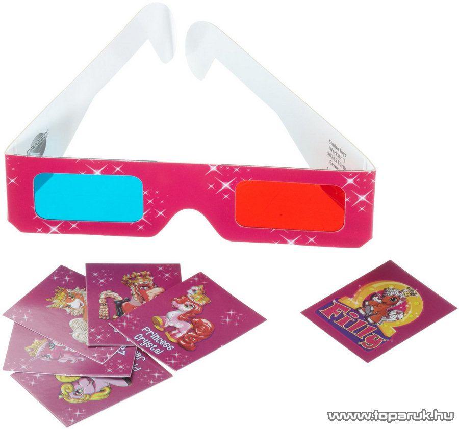Filly 3D Pónis memória játék - készlethiány