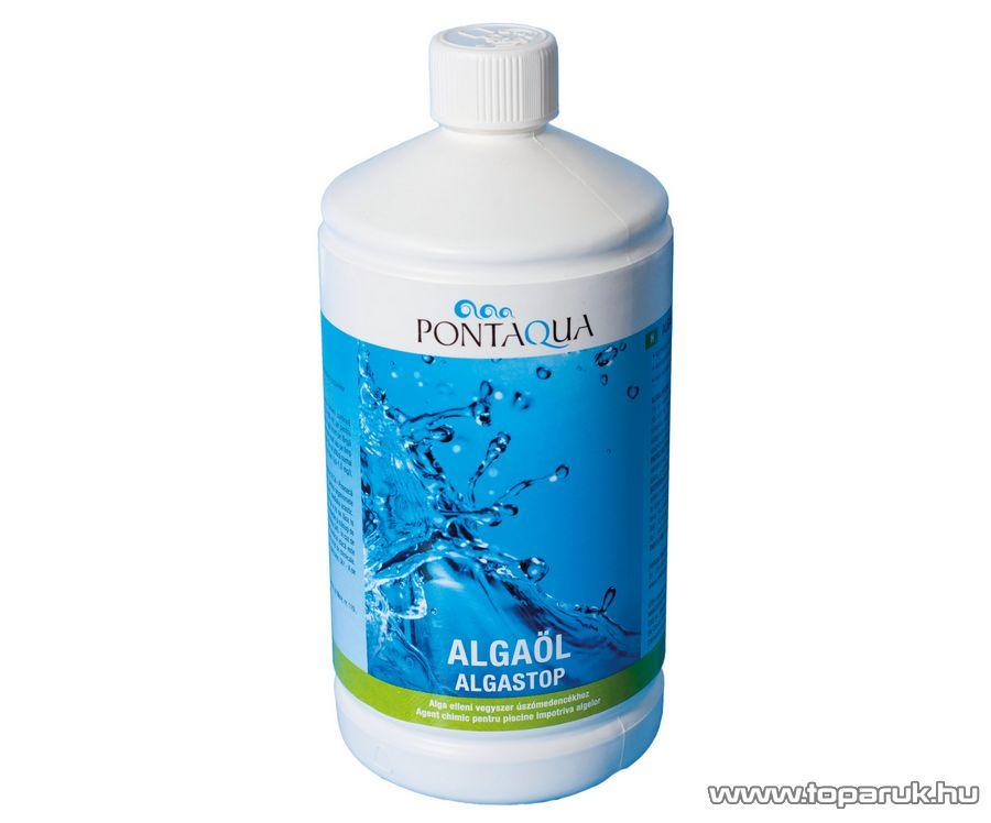 PoolTrend / PontAqua ALGASTOP (algaöl) medence algaölő szer, zöld alga ellen, 1 l