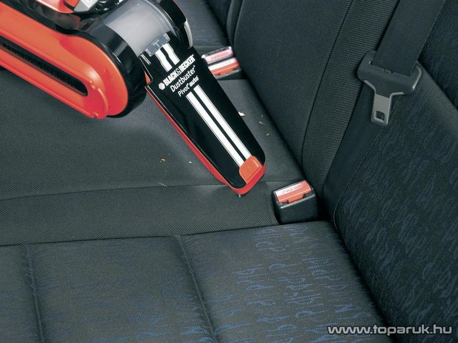 Black & Decker PAV1205 12V Elfordítható szívócsöves autós porszívó, kéziporszívó - készlethiány