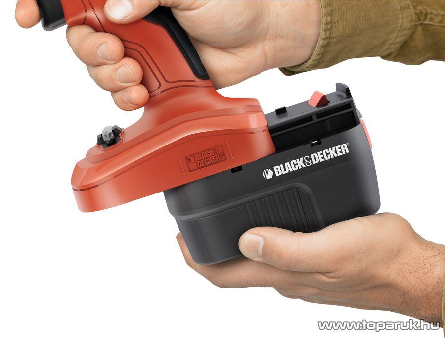 Black & Decker EPC14CA Akkumulátoros fúró és csavarozó gép - készlethiány