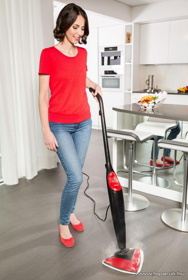 Vileda Steam Gőzölős padlótisztító, gőztisztító (gőz mop)