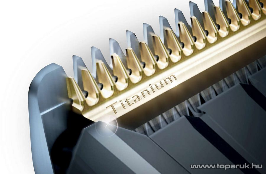 Philips HC9450/15 Hairclipper Akkumulátoros hajvágó, hajnyíró titánium pengékkel, motorizált fésűkkel - készlethiány
