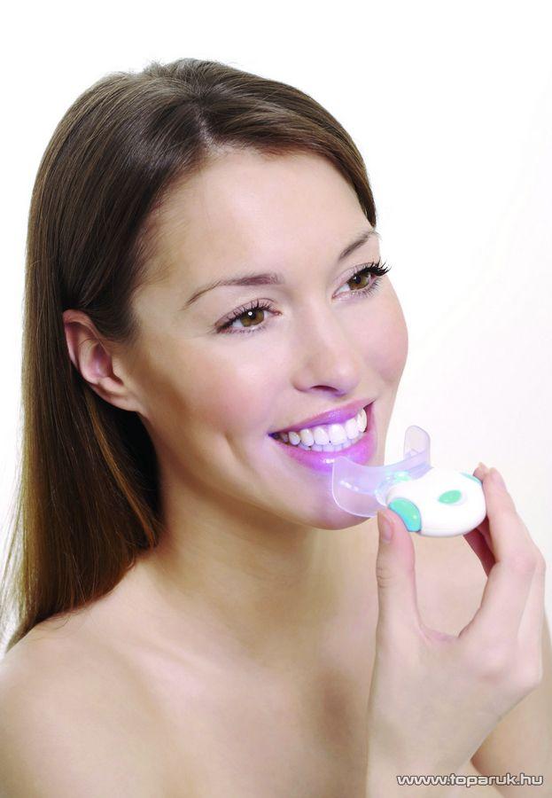 Rio DCWH6 Blue Light Teeth Whitening Otthoni fogfehérítő készlet