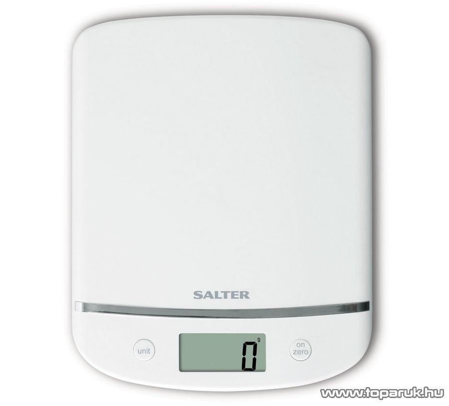 Salter 1056 Aquatronic konyhai mérleg, 15 év garanciával