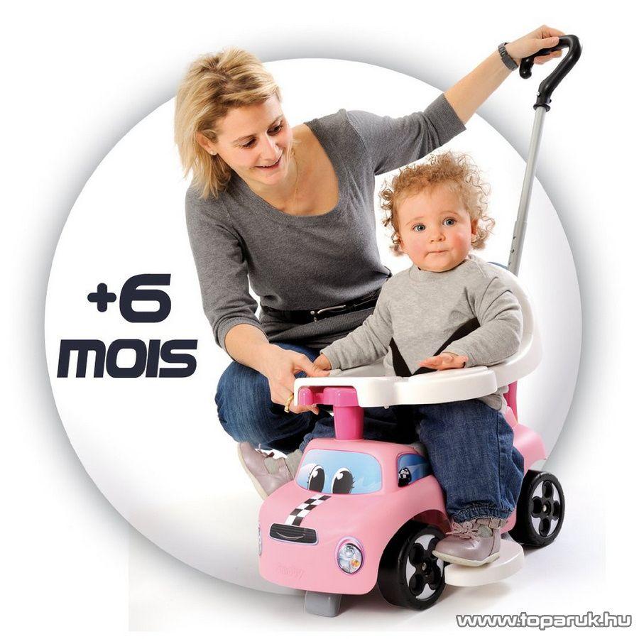 Smoby Auto Balade bébitaxi - lány (7600445001) - Megszűnt termék: 2015. November
