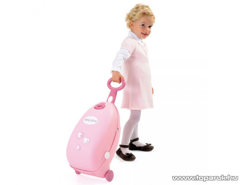 Smoby Baby Nurse Babacenter bőröndben (7600024032)