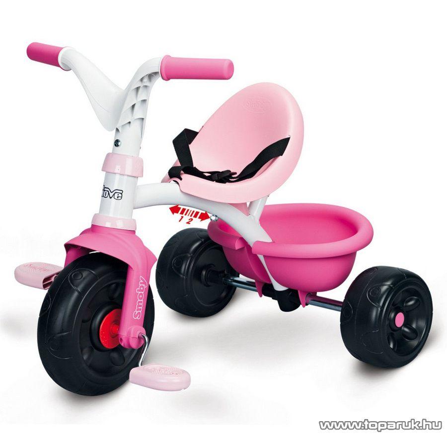 Smoby Be Move tricikli - lány (7600444173)