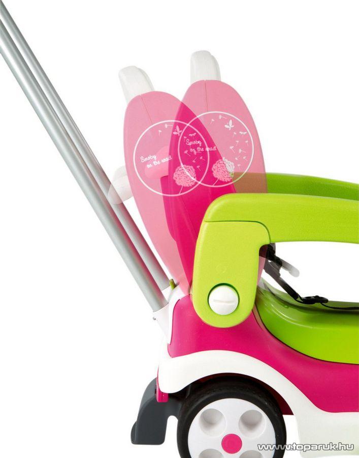Smoby Bubble Go II Balade bébitaxi 2014 - rózsaszín (7600412015) - Megszűnt termék: 2016. Június
