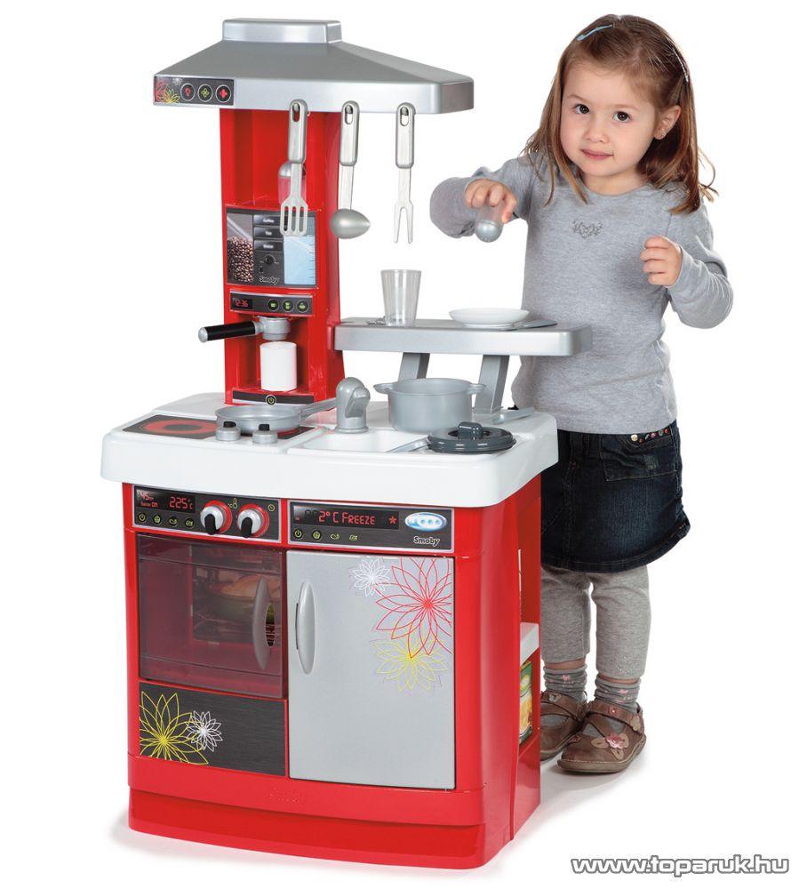 Smoby Bon Appetit Cherry játék konyha (7600024636) - Megszűnt termék: 2014. November