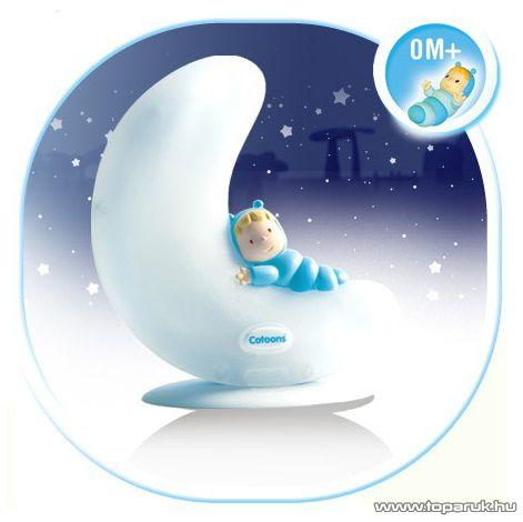Smoby Cotoons Bébi ajándék szett, éjszakai fény + altató (7600316204) - készlethiány