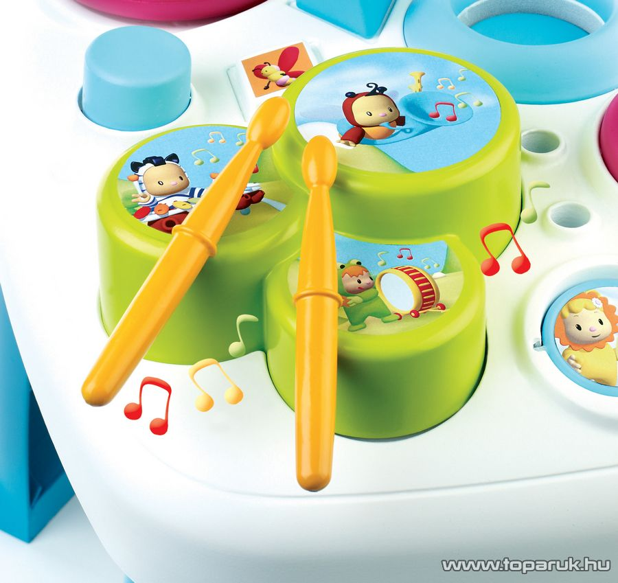 Smoby Cotoons Foglalkoztató babaasztal, activity asztal, 2 féle színben! (7600211067) - készlethiány