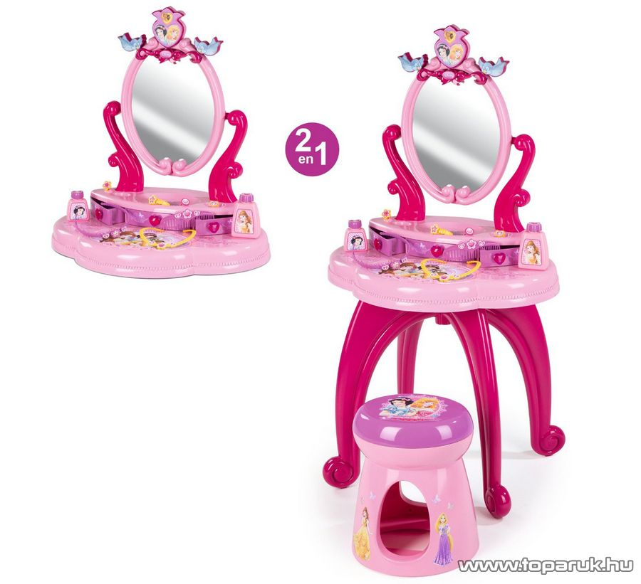 Smoby Disney Hercegnők Szépítkező asztal, pipere asztal (7600024232) - készlethiány