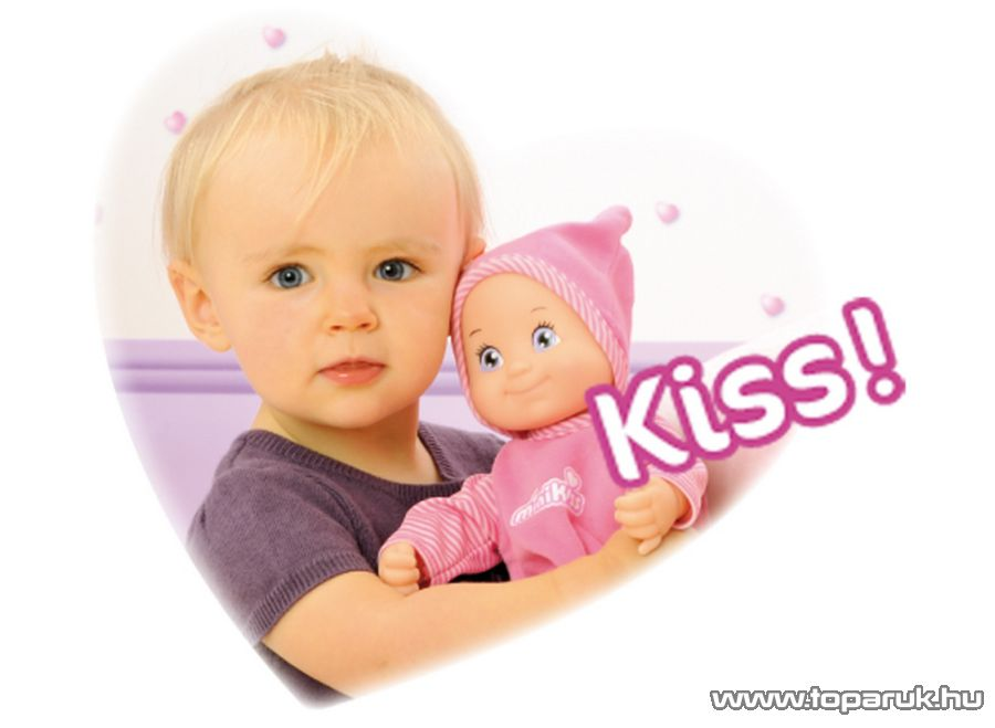 Smoby Mini Kiss játék baba (7600160151) - Megszűnt termék: 2016. Április