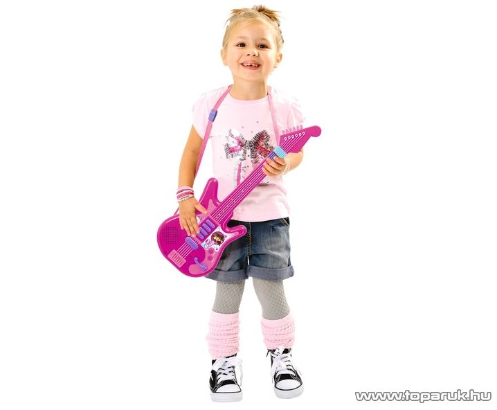 Smoby Violetta gitár (7600027228) - Megszűnt termék: 2015. November