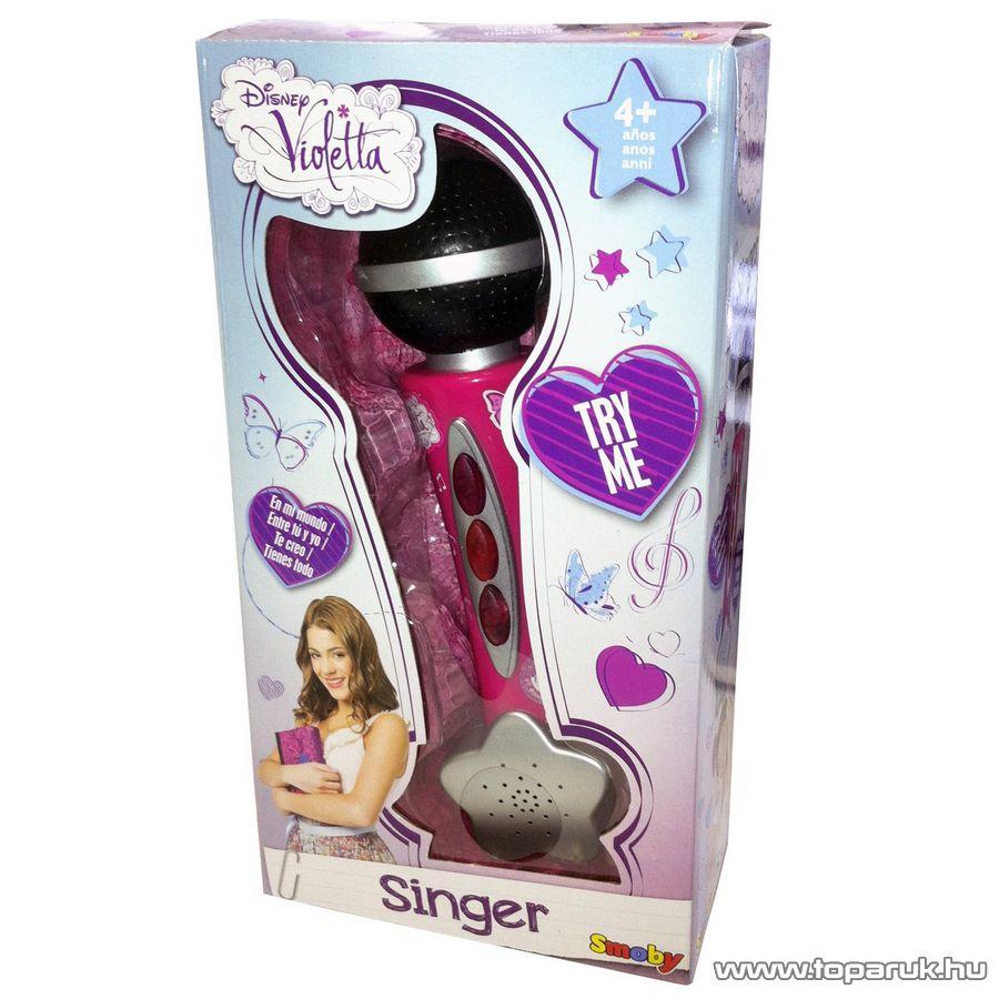 Smoby Violetta mikrofon (7600027219) - készlethiány