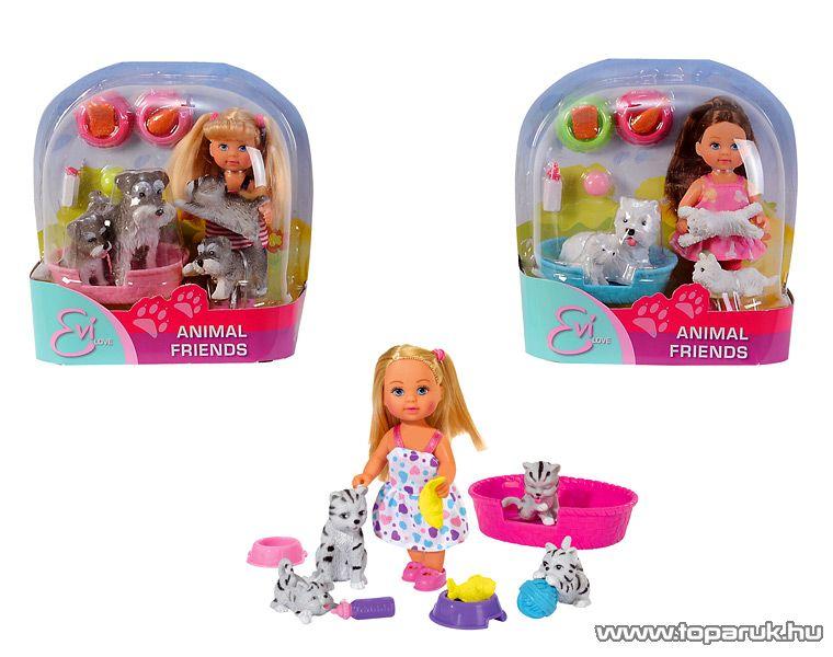 Steffi Love Évi baba állatokkal (105734191) - készlethiány