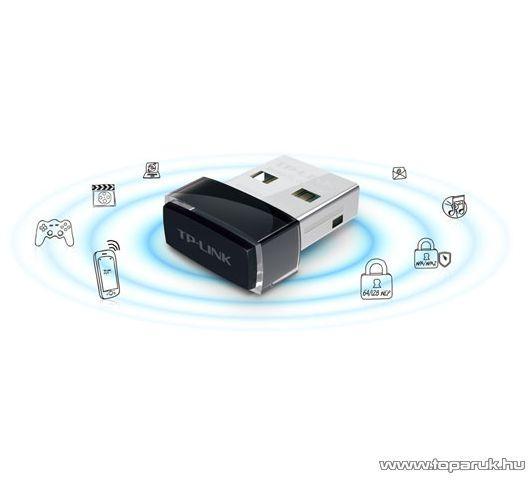 TP-LINK TL-WN725N 150M Wireless USB adapter (NANO kivitel)