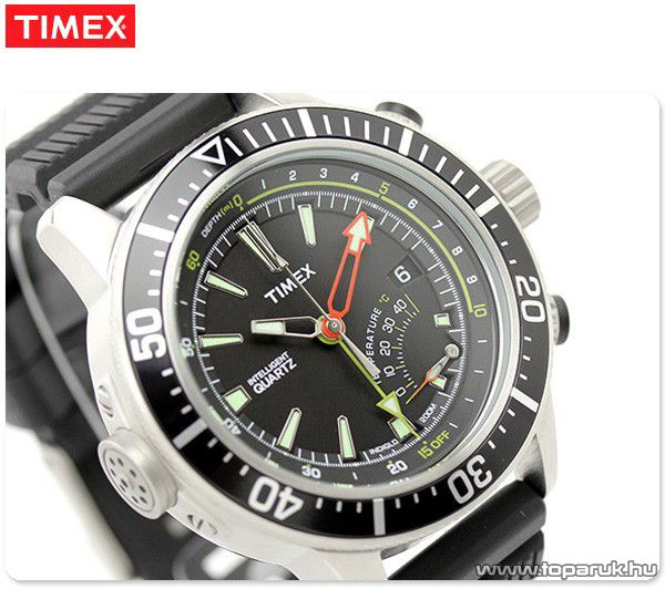 Timex T2N810 Intelligent Quartz férfi karóra mélységmérővel, ajándék kuponnal