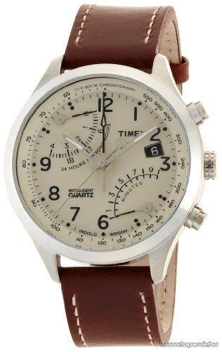 Timex T2N932 Intelligent Quartz Fly-Back Chronograph férfi karóra, ajándék kuponnal