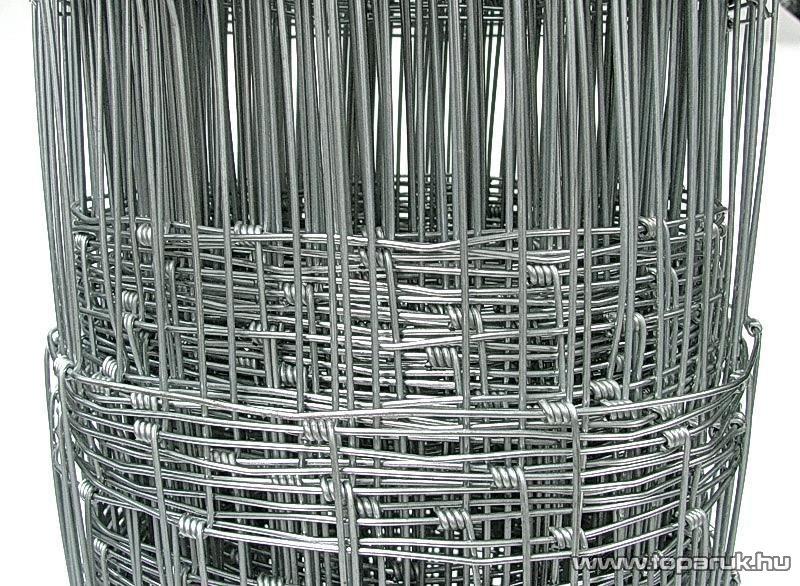 Vadháló tüzihorganyzott huzalból, normál horganyzással, 160 cm magas, 50 m / tekercs